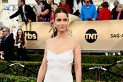 Amanda Peet Cutout Dress