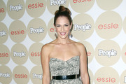 Amanda Righetti Strapless Dress