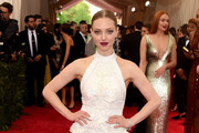 Amanda Seyfried Halter Dress