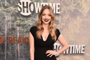 Amanda Seyfried Little Black Dress
