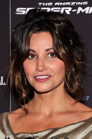 Gina Gershon made messy hair look so glam when she attended the special screening of 'The Amazing Spider-Man.'