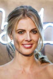 Donna Air attended the Amazon Fashion Photography Studio launch rocking a messy ponytail.
