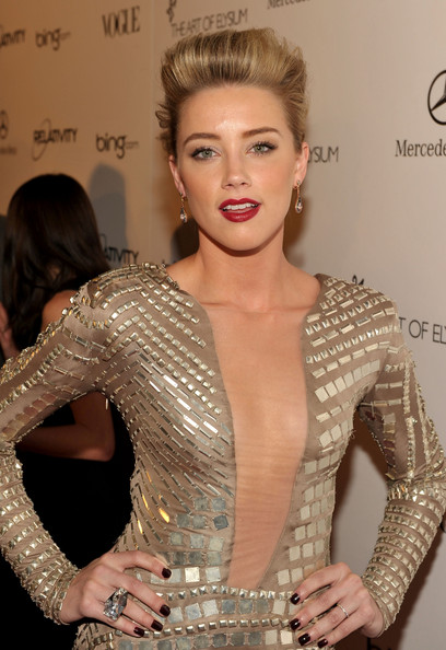 Amber Heard Cocktail Ring