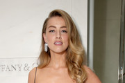 Amber Heard Diamond Chandelier Earrings