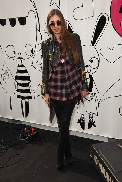 Amber Le Bon Over the Knee Boots