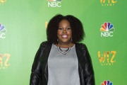 Amber Riley Leather Jacket