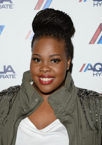 Amber Riley Braided Bun