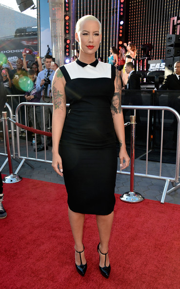 Amber Rose Cocktail Dress