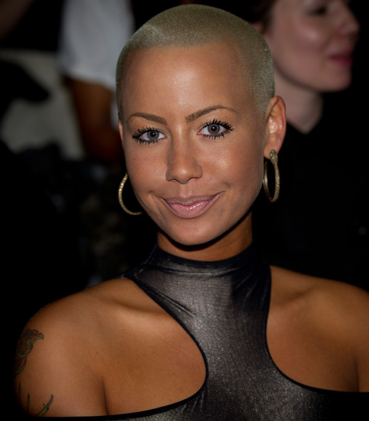 Amber Rose Gold Hoops