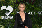 Amber Valletta Fringed Dress
