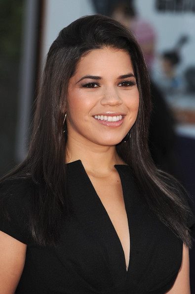 America Ferrera Long Straight Cut