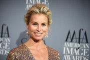 Niki Taylor attended the American Image Awards wearing an elegant pompadour.