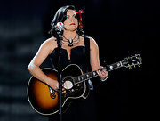 Angaleena Presley rocked a Fancy Nicodemus necklace at the 2011 American Country Awards.
