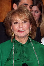 Barbara Walters sported a feathery bob at the American Friends of Magen David Adom benefit.