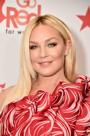 Elisabeth Rohm wore her hair in a straight layered style at the Go Red for Women 2018.