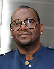 Randy Jackson sported a pair of aviator-inspired glasses while out in New York City.