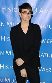 Christian showed off his black blazer while hitting an event in New York City.