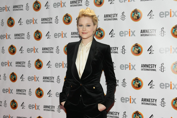 More Pics of Evan Rachel Wood Layered Razor Cut (1 of 5) - Evan Rachel Wood Lookbook - StyleBistro