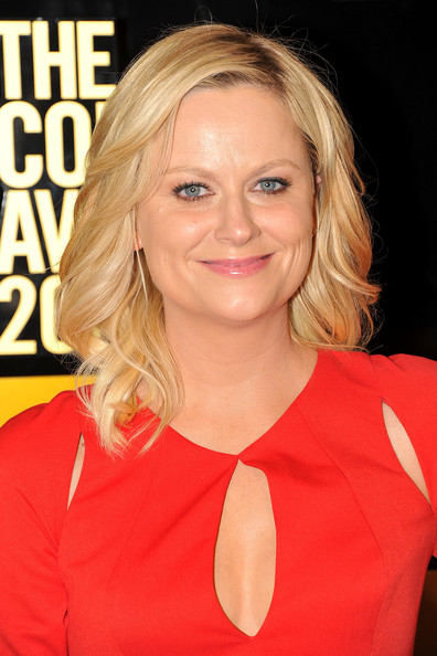 Amy Poehler Layered Cut