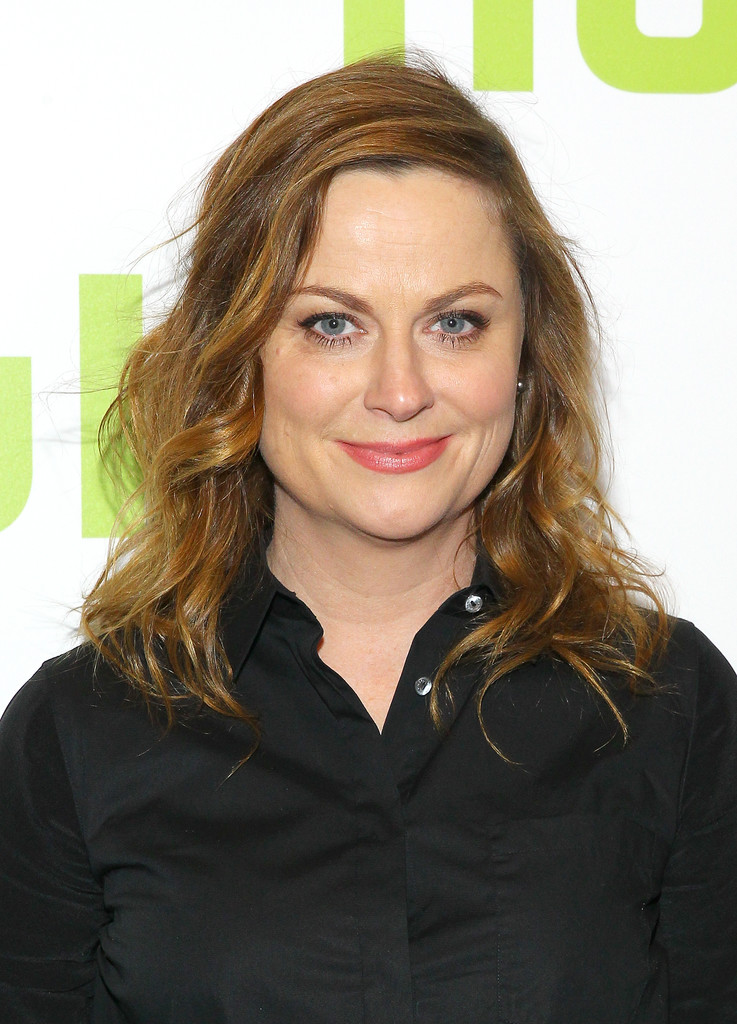Amy Poehler Medium Curls Amy Poehler Looks Stylebistro