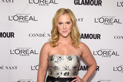 Amy Schumer Strapless Dress
