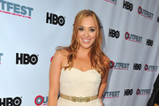 Andrea Bowen Strapless Dress