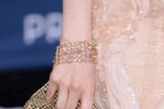 Andrea Riseborough Beaded Bracelet
