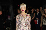 Andrea Riseborough Embroidered Dress