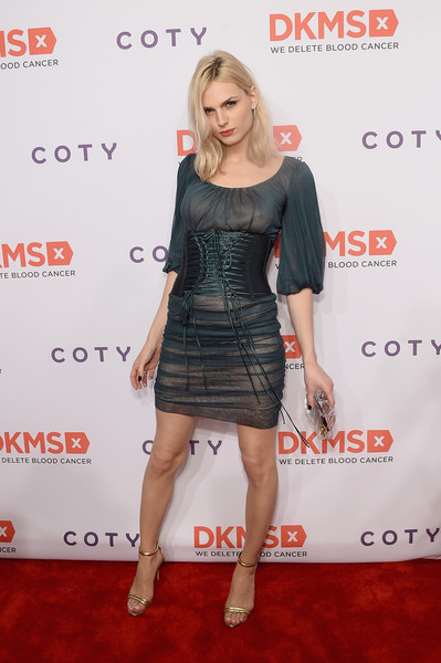 Andreja Pejic Sheer Dress