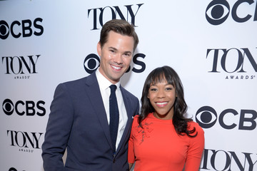 Andrew Rannells Nikki M. James 2016 Tony Awards Nominations Announcement