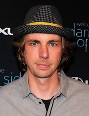 Dax walked the red carpet in a printed fedora hat while hitting the red carpet in West Hollywood.
