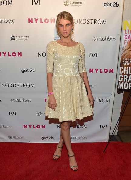 Angela Lindvall Cocktail Dress