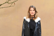 Angela Lindvall Leather Jacket