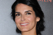 Angie Harmon Messy Updo