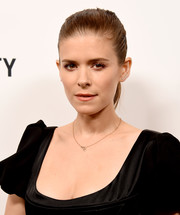 Kate Mara pulled her hair back into a ponytail for the Animal Equality's Inspiring Global Action Gala.