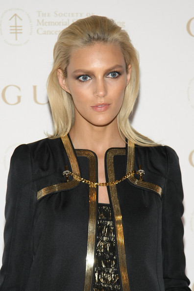 Anja Rubik Long Straight Cut
