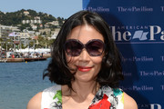 Ann Curry Round Sunglasses