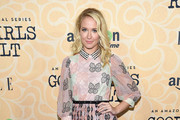 Anna Camp Embroidered Dress