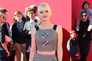 Anna Faris Knee Length Skirt
