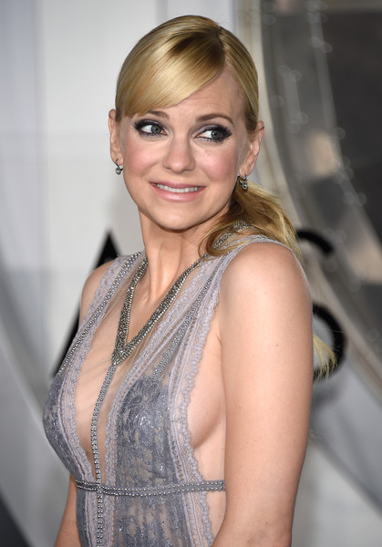 Anna Faris Ponytail [hair,face,blond,hairstyle,beauty,eyebrow,lady,lip,fashion,smile,arrivals,anna faris,passengers,california,regency village theatre,columbia pictures,westwood,premiere,premiere]