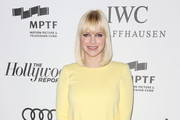 Anna Faris Peep Toe Pumps
