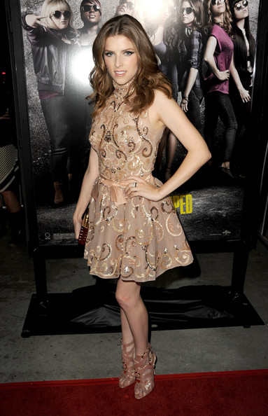 Anna Kendrick Cocktail Dress [pitch perfect,clothing,dress,premiere,fashion model,red carpet,carpet,cocktail dress,hairstyle,fashion,leg,anna kendrick,arclight cinemas,california,hollywood,universal pictures,gold circle films,red carpet,premiere,premiere]