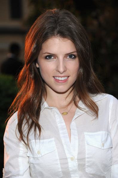 Anna Kendrick Layered Cut