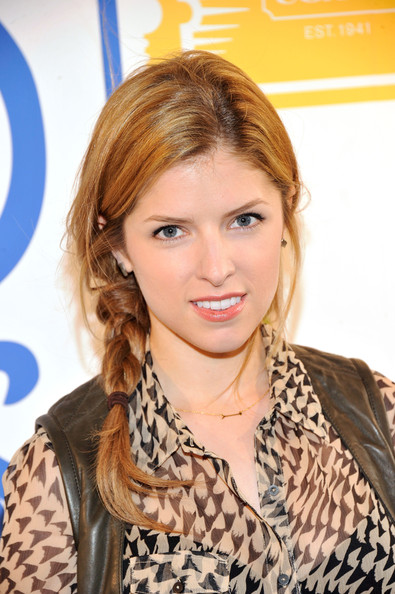 Anna Kendrick Long Braided Hairstyle