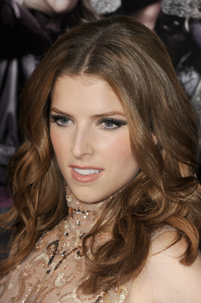 Anna Kendrick Smoky Eyes