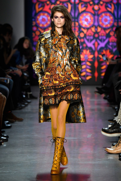 Kaia Gerber at Anna Sui
