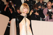 Anna Wintour Dazzles in Sequined Chanel at the 2011 Met Gala