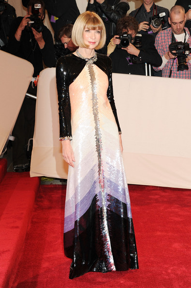 Anna Wintour Evening Dress
