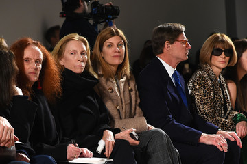 Anna Wintour Grace Coddington Proenza Schouler - Front Row - Fall 2016 New York Fashion Week