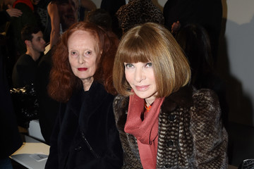 Anna Wintour Grace Coddington Raf Simons - Runway - NYFW: Men's